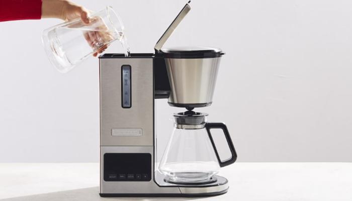 cómo usar una cafetera